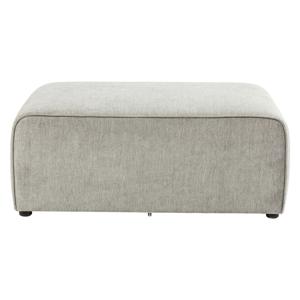 Sivý puf k modulárnej pohovke Kare Design Infinity, 50 cm