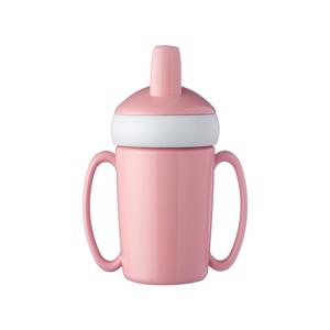 Ružová detská fľaša na vodu Rosti Mepal Trainer Mug