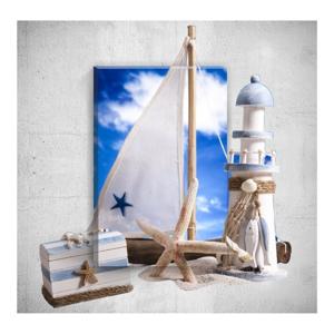 Nástenný 3D obraz Mosticx Sea Life, 40×60 cm