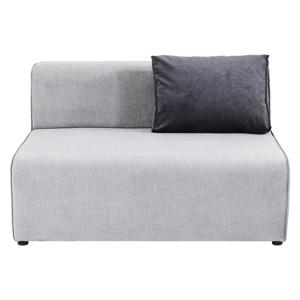 Sivá časť modulárnej pohovky Kare Design Infinity, 120 cm