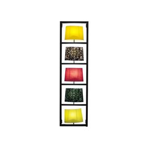 Nástenné svietidlo s čiernou oceľovou konštrukciou Kare Design Parecchi