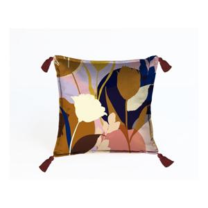 Farebná dekoratívna obliečka na vankúš Velvet Atelier Florals, 45x45cm