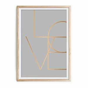 Obraz v ráme Velvet Atelier Love, 60×40cm