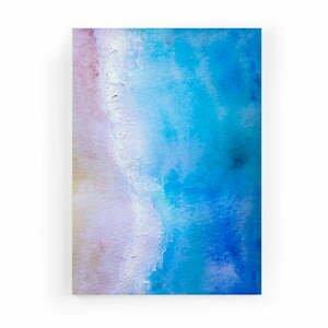Obraz zo zamatového plátna Velvet Atelier Shore, 50×70cm
