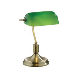 Stolová lampa Evergreen Lights Retro Verde