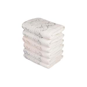 Sada šiestich uterákov s ozdobným motívom Madame Coco Baroque, 90×50 cm