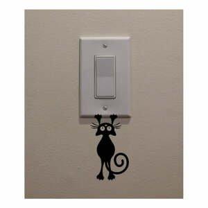 Dekoratívna samolepka Catty, výška 12 cm