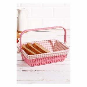 Košík na pečivo z vrbového prútia Logan Tim, 30 × 20 × 9 cm