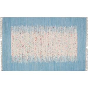 Koberec Contour Blue, 80 × 150 cm
