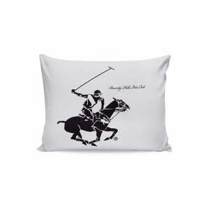 Sada 2 bavlnených obliečok na vankúše Polo Club White, 50 × 70 cm