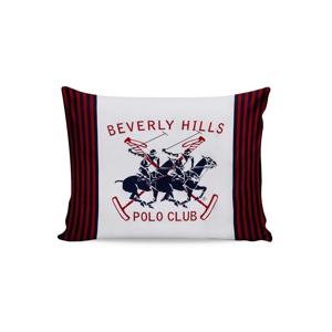 Sada 2 bavlnených obliečok na vankúše Polo Club Red, 50 × 70 cm
