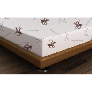 Bavlnená plachta Polo Brown, 240 × 260 cm