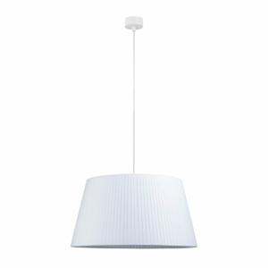 Biele stropné svietidlo s bielym káblom Sotto Luce Kami, ∅ 45 cm