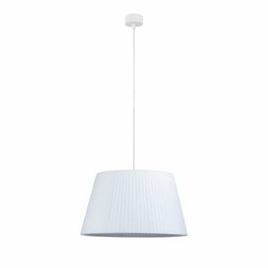 Biele stropné svietidlo s bielym káblom Sotto Luce Kami, ∅36 cm