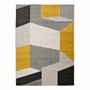 Sivo-žltý koberec Universal ElleMulti,160x230cm