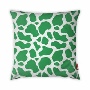 Zeleno-biela obliečka na vankúš Vitaus Animal Print, 43×43 cm