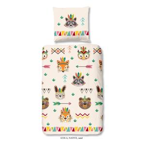 Detské bavlnené obliečky Good Morning Native, 140×200 cm