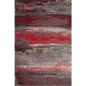 Behúň Eco Rugs Red Abstract, 80×300 cm