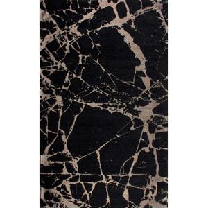 Behúň Eco Rugs Gold Marble, 80×300 cm