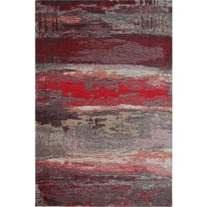 Koberec Eco Rugs Red Abstract, 80×150 cm