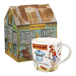 Hrnček z porcelánu Churchill China At Your Leisure The Cyclist, 400 ml