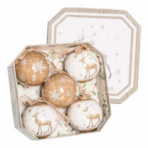 Súprava 5 vianočných ozdôb Unimasa Deers