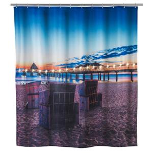 Sprchový záves Wenko Led Vacation, 180×200 cm