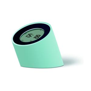 Zelený budík s LED displejom Gingko Edge