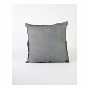 Sivá obliečka na vankúš s prímesou ľanu Surdic, 45 x 45 cm