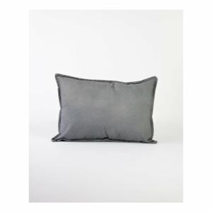 Sivá obliečka na obliečka s prímesou ľanu Surdic, 50 x 35 cm