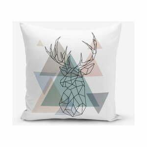 Obliečka na vankúš s prímesou bavlny Minimalist Cushion Covers Deer, 45×45 cm