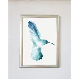 Plagát v ráme Piacenza Art Bird Right, 30 × 20 cm