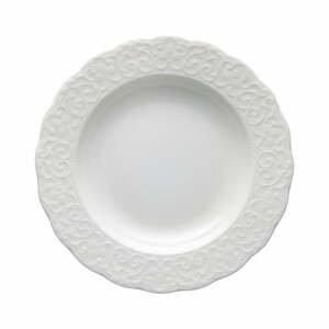 Biely porcelánový tanier Brandani Gran Gala, ⌀ 22 cm