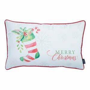 Obliečka na vankúš s vianočným motívom Apolena Honey Christmas Sock, 30×51 cm