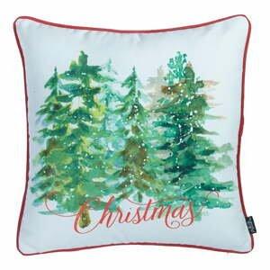 Obliečka na vankúš s vianočným motívom Apolena Honey Trees, 45×45 cm