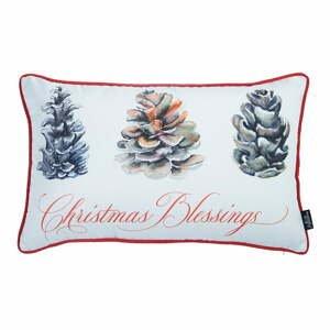Obliečka na vankúš s vianočným motívom Apolena Honey Christmas Blessings, 30×51 cm
