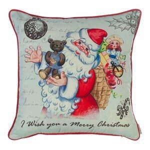 Vianočná obliečka na vankúš Apolena Comfort Teddy, 43×43 cm