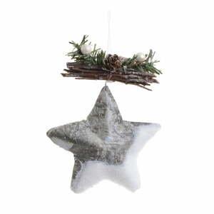 Vianočná ozdoba v tvare hviezdičky InArt Star