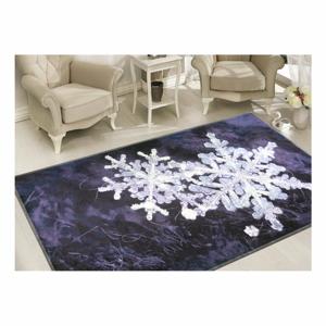 Koberec Vitaus Big Snowflakes, 80×120 cm