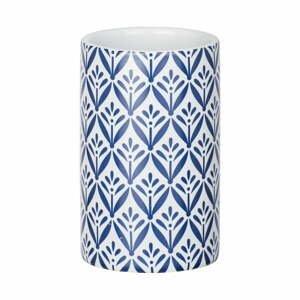 Modrý keramický téglik na kefky Wenko Lorca