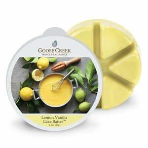 Vonný vosk do aromalampy Goose Creek Citrónovo-vanilkové cesto, 65 hodín horenia
