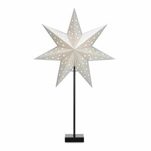 Svetelná dekorácia v tvare hviezdy Markslöjd Solvalla Shine, výška 69cm