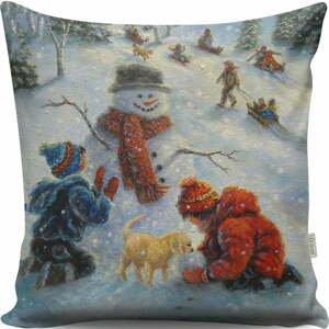 Vankúš Vintage Christmas, 43x43 cm