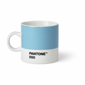 Svetlomodrý hrnček Pantone Espresso, 120 ml