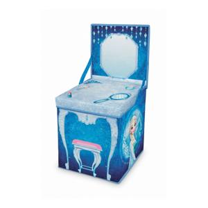 Rozkladací úložný box s hracím stolíkom Domopak Frozen