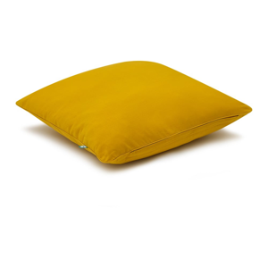 Horčicovožltá obliečka na vankúš Mumla Basic, 70×80 cm