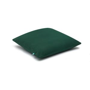 Tmavozelená obliečka na vankúš Mumla Basic, 40 × 40 cm