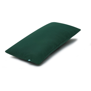 Tmavozelená obliečka na vankúš Mumla Basic, 30 × 60 cm