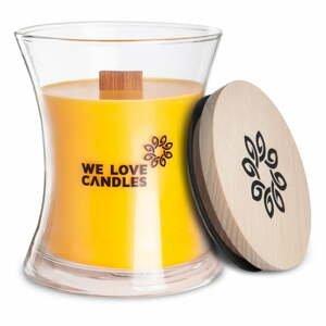 Sviečka zo sójového vosku We Love Candles Honeydew, doba horenia 129 hodín