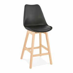 Čierna barová stolička Kokoon April